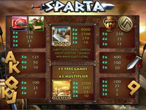 Игра спарта без регистрации бесплатно